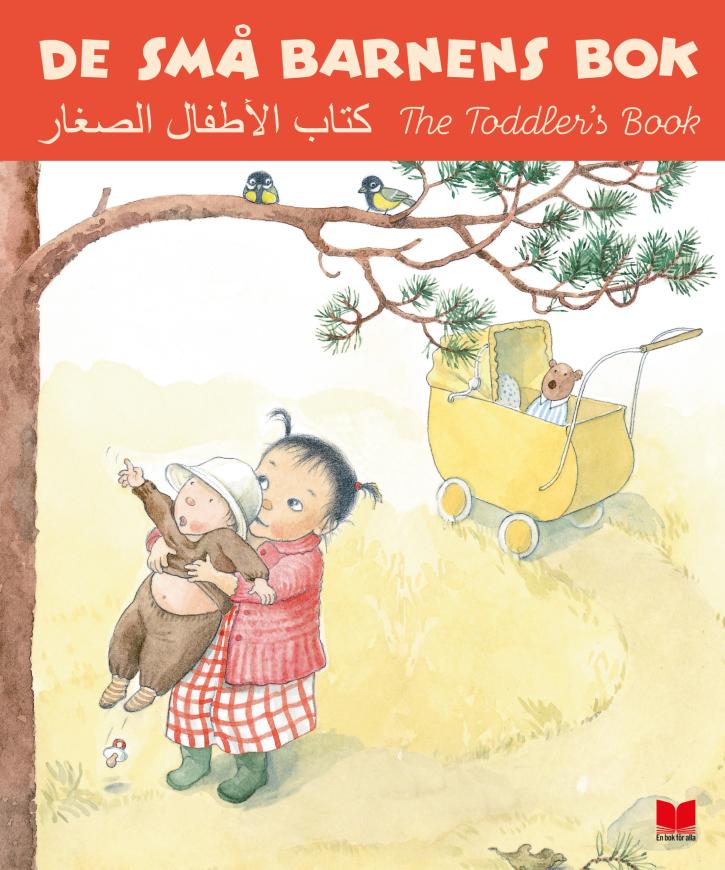 Boken finns också i en version med parallelltext på svenska, arabiska och engelska som erbjuds till de familjer som behöver det.