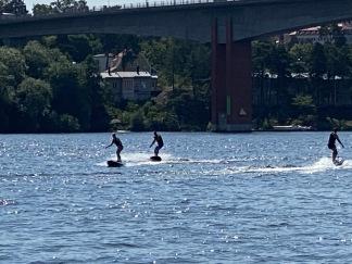 Surf med instruktör