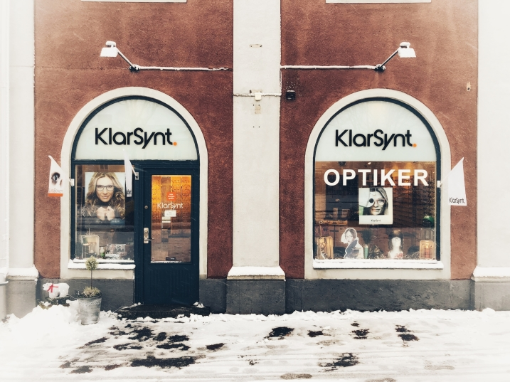 Butiken i januari 2018, södra vägen 5, Kalmar