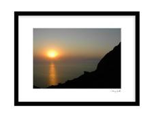 Ljuvlig Solnedgång