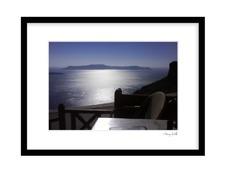 Santorini Fira Solnedgången