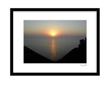 Santorini Solnedgången