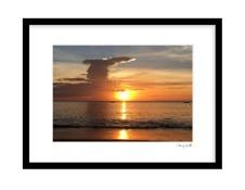 Sunset Klong Toab Beach