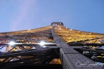 Tour Eiffel ur ett annorlunda perspektiv - Paris 2007