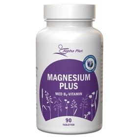 Magnesium plus 90 tabl - Magnesium plus 90 tabl