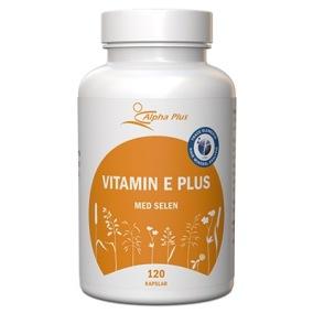Vitamin E plus 120 kapslar -