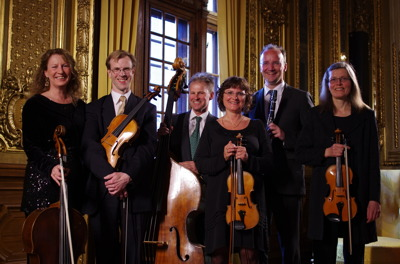 Musik i Ladan-ensemblen i Kgl Operans Guldfoajé