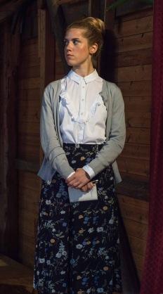 Linnéa Törnqvist från Kejsarens nya kläder 2017. foto Sarah Tehranian