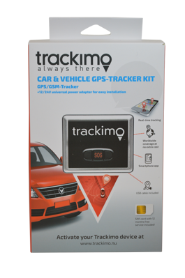 Trackimo Car & Vehicle GPS-Tracker Kit -