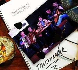 """JONAS WERNEFORT & LIVEKOLLEKTIVET - Ny CD:EP i slutet av mars 2021 - """"TOLKNINGAR"""" med 3 alldeles nyinspelade låtar."""