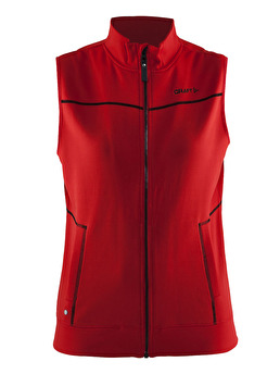 CRAFT In-The-Zone Vest W - CRAFT In-The-Zone Vest W, Bright Red/Black, Small
