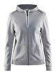 CRAFT In-The-Zone Full Zip Hood W - CRAFT In-The-Zone Full Zip Hood W, Grey Melange, XLarge