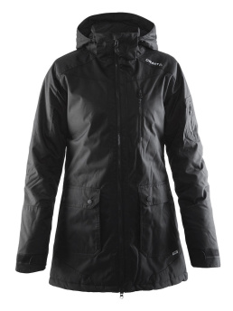 CRAFT Parker Jacket - CRAFT Down Jacket, Black, Small