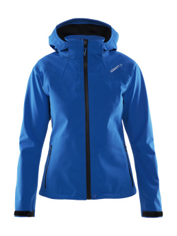 CRAFT Tech Shell Jacket W - CRAFT Tech Shell Jacket, Blue, Small