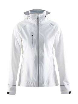 CRAFT Cortina Soft Shell Jacket - CRAFT Cortina Soft Shell Jacket, White, Small