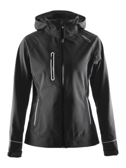 CRAFT Cortina Soft Shell Jacket - CRAFT Cortina Soft Shell Jacket, Black, Medium