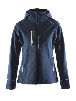 CRAFT Cortina Soft Shell Jacket - CRAFT Cortina Soft Shell Jacket, Navy, XSmall
