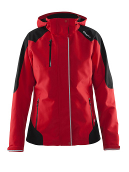 CRAFT Zermatt Jacket W - Small, Bright Red