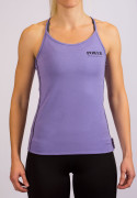 POWER of Sweden Premium Shoulder Strap Bamboo Tank Top, Purple