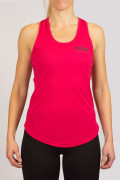 POWER of Sweden Strap Back Tank Top, Magenta
