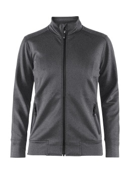 CRAFT Noble Zip Jacket W - XSmall, Dark Grey