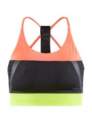 CRAFT Asome Strap Top W, Coral/Black