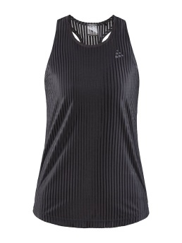 CRAFT Asome Tank Top W, Black - Small
