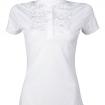 Tävlingsskjorta - Siena Ruffle - Vit - XXL