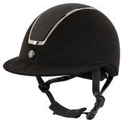 BR Riding Helmet Omega Microfiber Glitter
