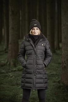 Covalliero vinterkappa - Mörkbrun XS