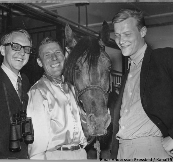 Kurt Mohlin, Bosse och Willy i stallet efter segern