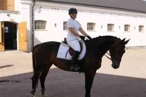 Här är jag och Vivan på Strömsholm, vi spenderade  3 veckor där en sommar :-)