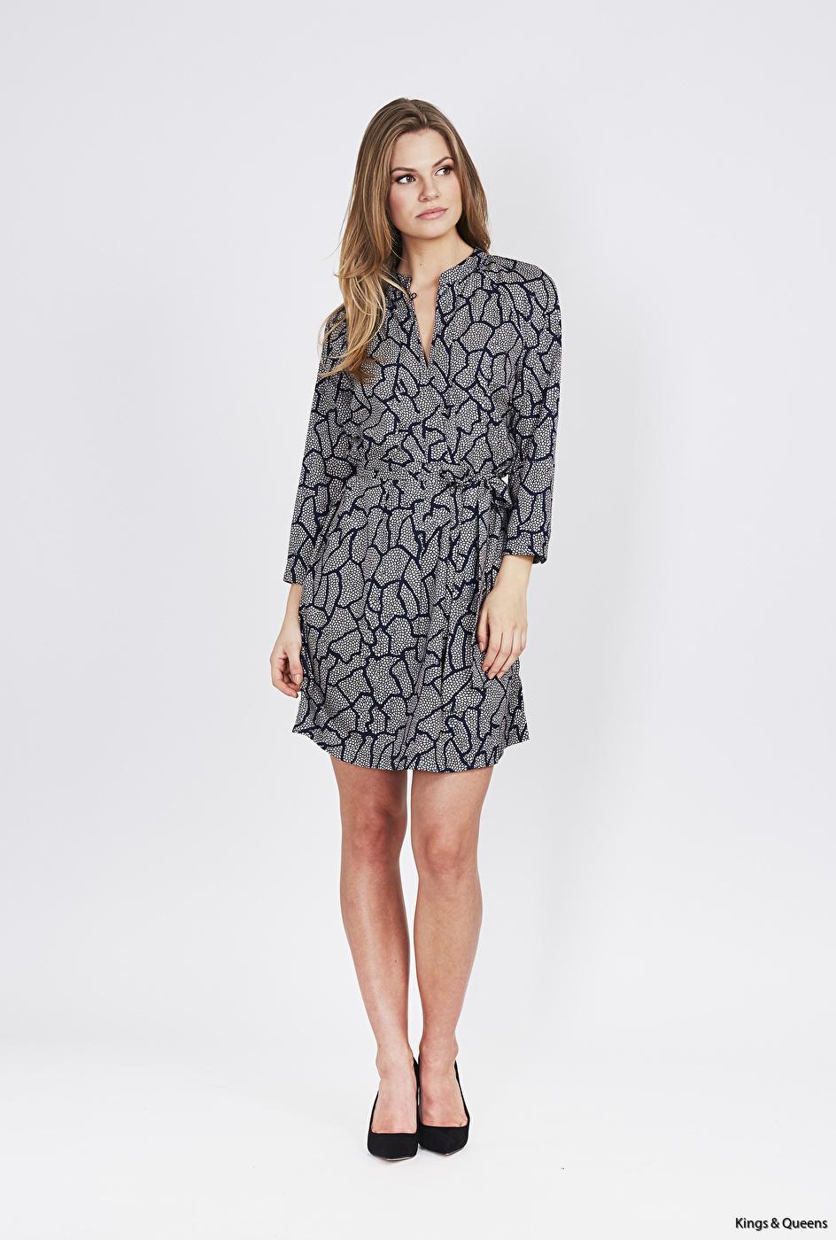 DL-17-07-12-P Sense sleeve dress
