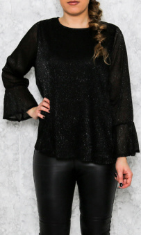 Lucy Top Black - Lucy top black oz