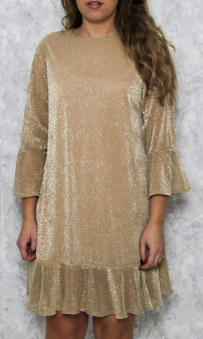 Lucy Dress Gold - Lucy dress gold oz