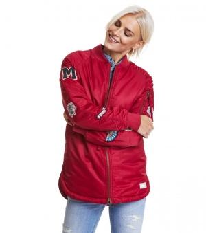 Love Bomber Jacket - Love Bomber jacket red 1