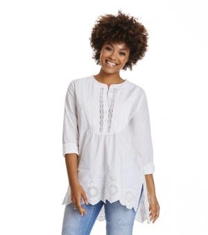 Revival l/s Blouse - Revival l/s blouse chalk 4