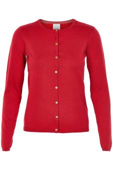Anne-Marie Cardigan - Anne-mari cardigan röd S