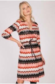 Hayden Wrap Knit Dress