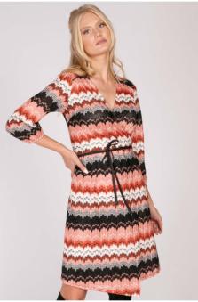 Hayden Wrap Knit Dress - Hayden wrap knit dress S