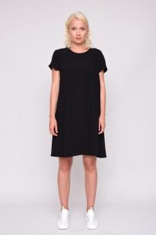 Simone Dress - Simone dress Svart XS