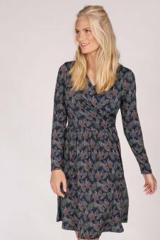 Sweet Wrapped Dress Blue - Sweet wrapped dress blue S