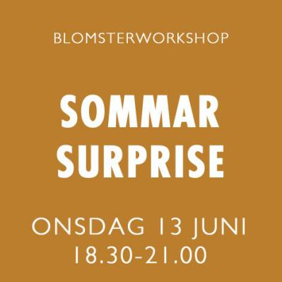 SOMMAR SURPRISE / 13 JUNI -