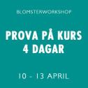 PROVA PÅ KURS 10-13 APRIL