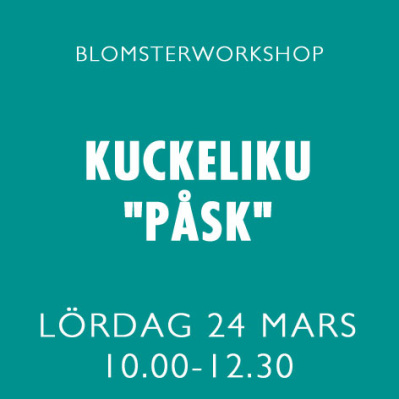 KUCKELI-KU PÅSK / 24 MARS -