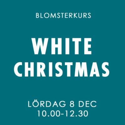 WHITE CHRISTMAS / LÖR 8 DEC -