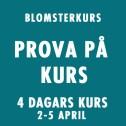 PROVA PÅ KURS 2-5 APRIL