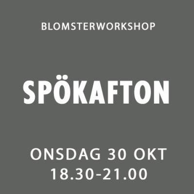 SPÖKAFTON / 30 OKT -