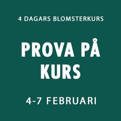 PROVA PÅ KURS / 4-7 FEBRUARI -