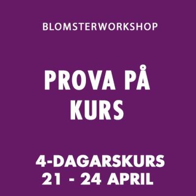 PROVA PÅ KURS / 21 - 24 April 2020 -